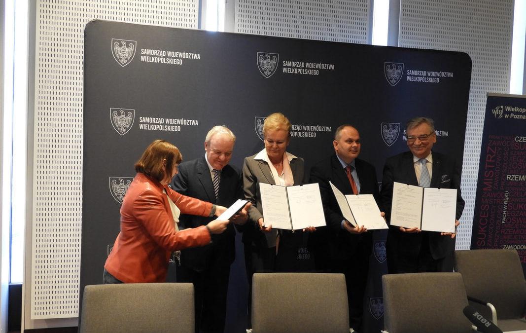 Podpisanie porozumienia o partnerstwie