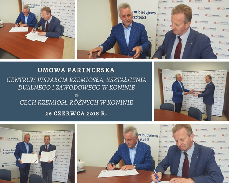 Porozumienie o współpracy z Cechem Rzemiosł Różnych w Koninie