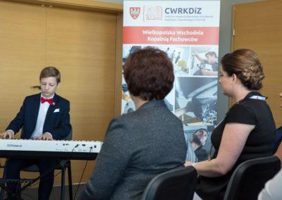 Podsumowanie pierwszego roku działalności CWRKDiZ w Koninie - konferecja (2)