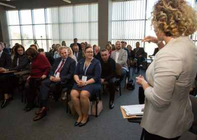 Podsumowanie pierwszego roku działalności CWRKDiZ w Koninie - konferecja (22)
