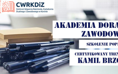 """Szkolenie """"Akademia Doradcy Zawodowego"""""""