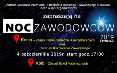 Noc Zawodowców 2019 Edycja 2.0- 4 października