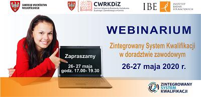 Webinar – Zintegrowany System Kwalifikacji w doradztwie zawodowym