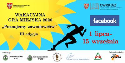 """Wakacyjna Gra Miejska """"Poznajemy zawodowców"""" 2020"""