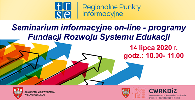 Seminarium informacyjne on-line – programy FRSE